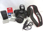 Canon EOS Rebel T1i 151MP Digi SLR Camera  18 55mm Lens Great Shape Bundle