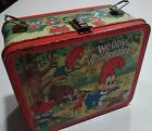Woody Woodpecker 1972 Walter Lantz Productions Aladdin Metal Lunchbox lunch box