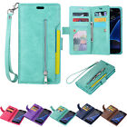 For Samsung Galaxy Note 8 S8 S7 Phone Case Cover Card Wallet Flip Leather Stand