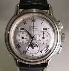 Zenith El Primero Chronomaster Moonphase Stainless Steel Watch 01.0240.410