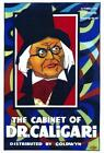 The Cabinet of Dr Caligari Movie POSTER 27 x 40 Werner Krauss Conrad Veidt A