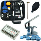 Watch Repair Tool Kit - Case Opener, Link Remover, Spring Bars with Case Press