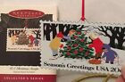 1994 HALLMARK U S CHRISTMAS STAMPS SECOND IN THE SERIES ORNAMENT USA