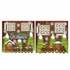 Printed Premade Scrapbooking 2 Page Layouts WOODLAND WINTER wildlife snow