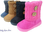 Baby infant toddler girls suede boots shoes side zipper 3 8