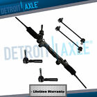 5pc Complete Power Steering Rack and Pinion Gear Assembly and Suspension Kit