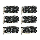MSI GAMING Radeon 8GB Graphics Card RX 470 ARMOR 8G OC Mining Bitcoin - Lot of 6