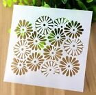 Cherry Blossoms Pattern Layering Stencil Template DIY Scrapbooking Home Decor