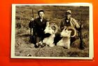 2 Hunters with prize Bighorns Vintage 4X6 Photo Reprint PH769