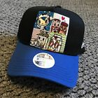 New Era 9Forty Tokidoki Women Breakfast Buds Black Blue Adjustable Snapback Hat