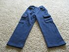 Champion Track pants boys size 7 Navy pre owned