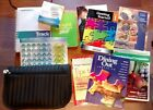 LOT of Weight Watchers Books Tracker Scale Points Plus Stickers Pouch