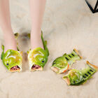 Unisex Fish Style Beach Slippers Breathable Summer Sandals Pool Flip Flops New