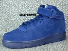 Nike Air Force 1 Mid 07 315123 410 Binary Blue White Suede NEW IN BOX DS AF1
