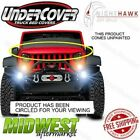 Undercover NightHawk Unpainted Black Light Brow Fits 2007 2017 Jeep Wrangler JK