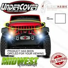 Undercover NightHawk Bright White Light Brow Fits 2011 2015 Jeep Wrangler JK