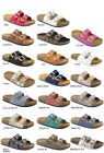 New Womens Open Toe Buckle Slide Cork Footbed Slip On Flat Sandal Flip Flop Shoe