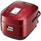 HITACHI IH Rice Cooker Steamer 5.5Cups RZ-AW3000M-R AC100V