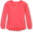 TCP Childrens Place Hi Low Athletic LS Shirt Top Sz L Large 10 12 NWT Slubknit