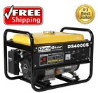 NEW Duro Star DS4000S Gas Powered Portable Generator W Heavy Duty Steel Frame