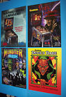 (4) PINBALL MACHINE Flyers FREDDY FRANKENSTEIN MONSTER BASH DEVILS DARE Horror