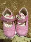 Umi pink closed toe girls shoes pink size 6 toddler