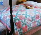 BLOSSOM TIME Quilt Pattern Piecing Assorted Prints from Magazine