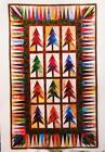 JEWELED FOREST Wall Quilt Pattern Paper Foundation Piecing from Magazine