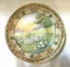 Antique Hand Painted Nippon Dish Art Deco Moriage - Morimura Bros.