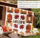COUNTRY PUMPKINS Quilt Pattern Piecing Fusible Applique from Magazine