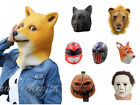 New Halloween full head animal latex mask Cosplay dresses up as a mask