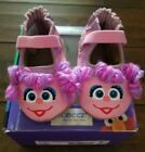 ROBEEZ Baby Girl Sesame Street Abby Cadabby Pink Shoes Sz 0 6 Months
