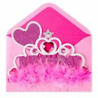 PAPYRUS Greeting Card BIRTHDAY Unique Cute Sealed Adorable Princess Crown