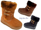 Baby toddler girls suede boots shoes 5 10 side zipper
