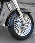 Harley Softail Fatboy Custom Cut Turbine 2008 -2016 Chrome Rims Wheels Exchange