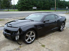 2012 Chevrolet Camaro RS Leather Salvage Rebuildable Repairable Chevrolet Camaro RS Salvage Rebuildable Repairable Project Wrecked Damaged Fixer