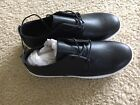 Black And White Men Casual Work Sneakers Shoes Sz 11 Medium Cheap Fast Sale