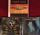 Prime Time- The Unknown, The Miracle, Free The Dream (3 CD Lot) Vision Divine.