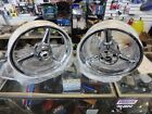 KAWASAKI ZX6R / ZX6RR 03 - 04  CHROME FACTORY WHEEL SET *EXCHANGE ONLY