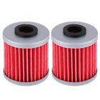 2Pcs Engine Oil Filter For Beta EVO 250 300 Kawasaki KX250F Suzuki RMZ250 RMZ450