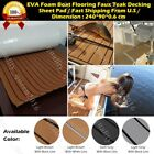35 X 94 5MM Thick Brown EVA Foam Teak Sheet Boat Yacht Synthetic Teak Decking