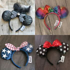 New Disney Parks Flower Christmas Lace Minnie Mouse Ears Mickey Party Headband