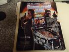 1994 STALLONE @ SNIPES DEMOLITION MAN WILLIAMS ORIGINAL PIN BALL FLYER ( MINT)