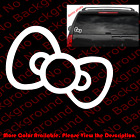 Hello Kitty BOW Die Cut Vinyl Decal Sticker for Phone Car Window laptop HK002