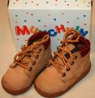 BABY TODDLER STRIDE RITE MUNCHKIN HIKER Work BOOTS SHOES Wheaton Size 4 Boys