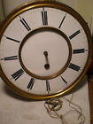 Antique 1 Wt Vienna Regulator Clock Movt Ca1870 To Restore M262