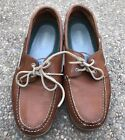 Sperry Top Sider Mako Eye Boat Shoes Tan Mens Size 12 Topsider