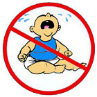 No cry baby construction stickers S 1