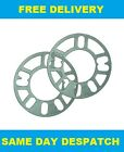 2 X 3MM ALLOY WHEELS SPACERS SHIMS FIT PORSHCE CAYENNE TURBO 03-ON