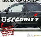 Custom Security Company Vehicle Vinyl Graphics Decals Kit Police Badge1